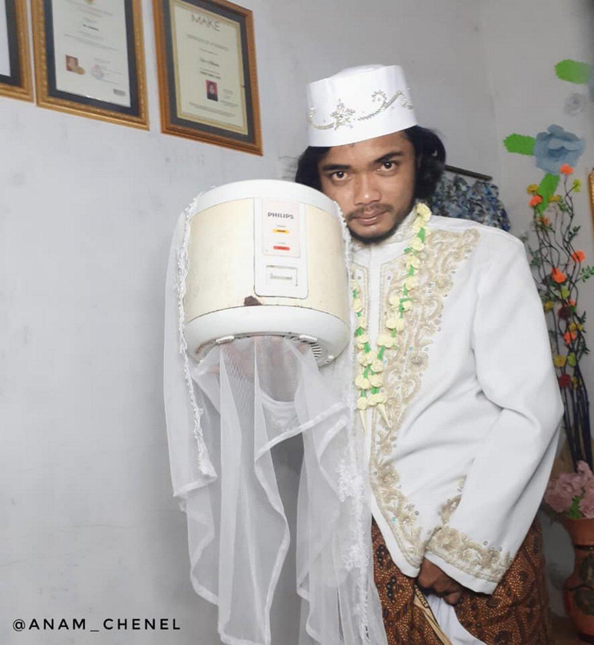 Un homme qui a épousé un cuiseur à riz divorce 4 jours plus tard