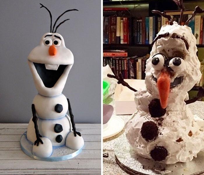 Voici les gâteaux les plus horribles et les plus drôles