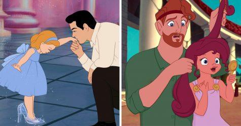 Cette artiste a réinventé 8 princes Disney en tant que pères d'adorables bambins et bébés